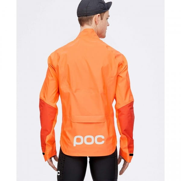 AVIP Rain Jacket Zink Orange, Gr. M.