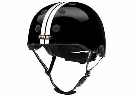Melon Helm - XL/XXL - Straight White Black