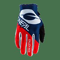 MATRIX Glove STACKED blue/red S/8