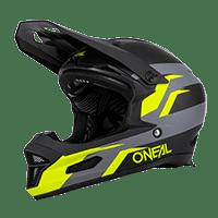 O´Neal FURY Helmet STAGE black/neon yellow 55/56 S