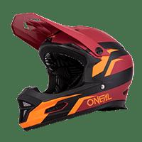 O´Neal FURY Helmet STAGE red/orange S (55/56 cm)