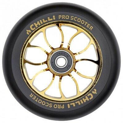 Chilli Wheel-Reaper 110mm Black PU Crown Core