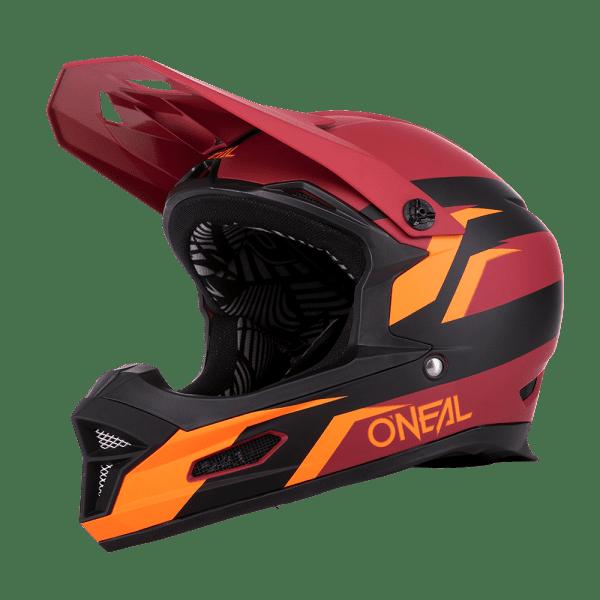O´Neal Fury Helmet STAGE red/orange 57/58 M
