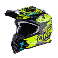 2SRS Youth Helmet VILLAIN neon yellow L (53/54 cm)