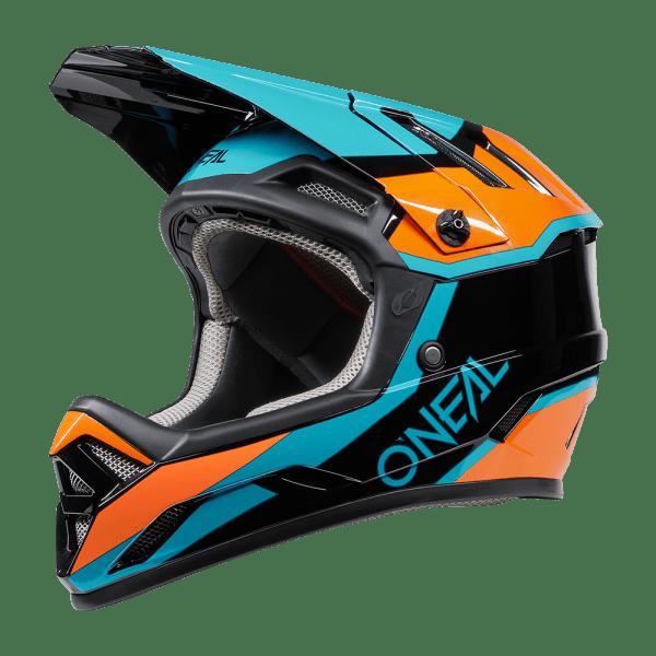 O´Neal Backflip Helmet Strike Black/Orange 59-60 L