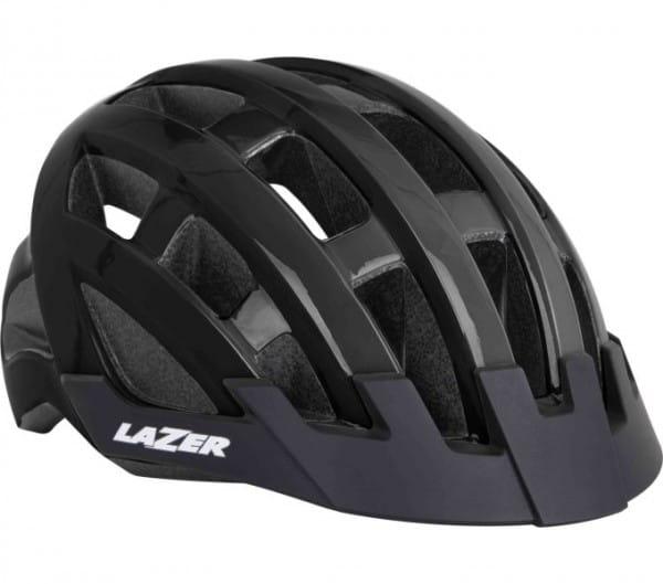 Lazer Helm Compact Black Unisize 54-61 cm
