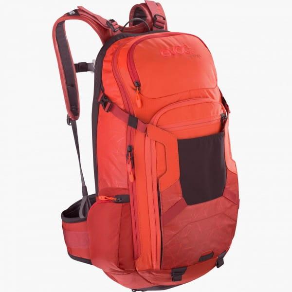 evoc fr trail orange chili red