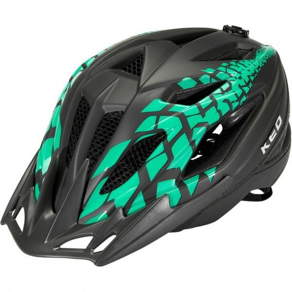 KED Street Junior Pro S black green matt 49-55 cm