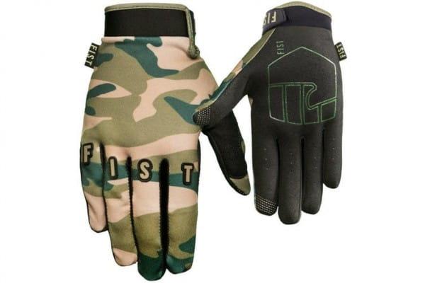 Fist - L - Camo Glove - Army