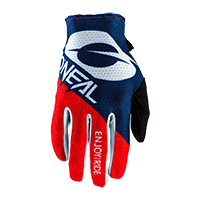 O´Neal MATRIX Glove STACKED blue/red S/8