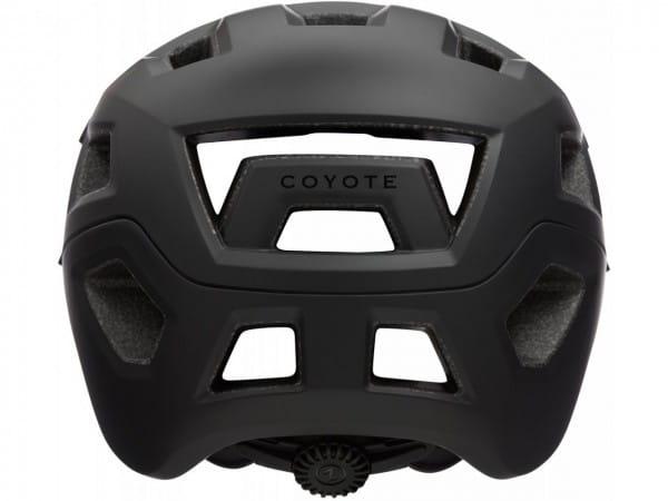 Helm Coyote Full Black Gr. S