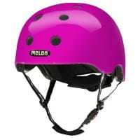 Melon Helm - M/L - Rainbow Purple