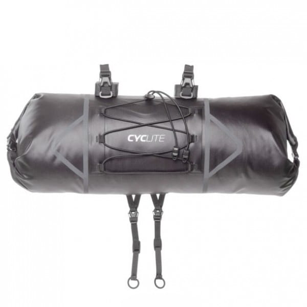 Handle Bar Roll Bag Black