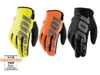100% Brisker Cold Weather Youth Glove, black, M