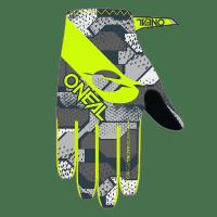 O´Neal MATRIX Glove CAMO V.22 gray/neon yellow S/8